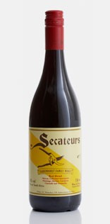 Badenhorst Secateurs Red